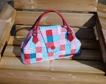 Handmade Carpet Bag-Handbag