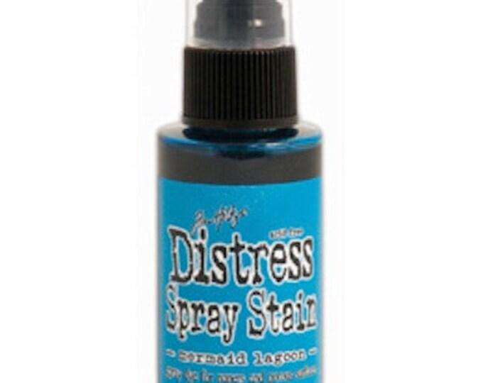 Tim Holtz Distress Spray Stain - MERMAID LAGOON March 2015