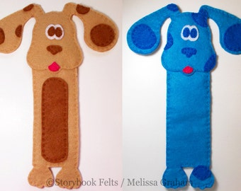 SHOP CLOSING SALE - Make Your Own Animal Bookmark Puppy Dog With Pre-cut Felt and Instructions