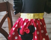 Custom Mickey or Minnie mouse dress