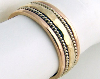 Wedding Band Ring 14K Gold