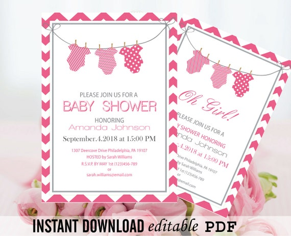 Remarkable image intended for printable onesie baby shower invitations