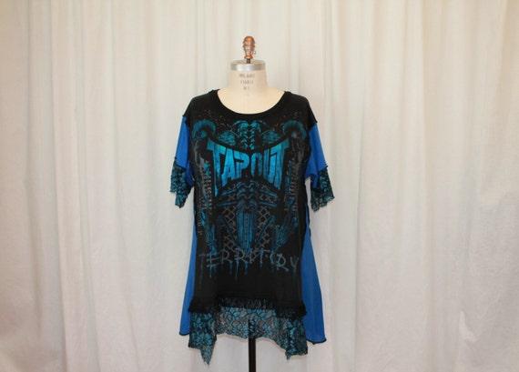 Boho And Goth Women's Plus Size Clothing Plus size Gothic tshirt