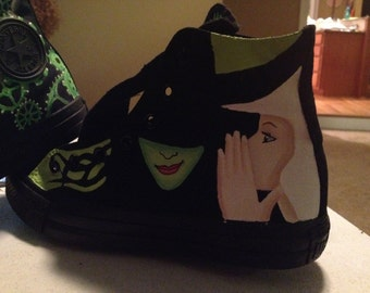Converse Wicked hand painted shoes