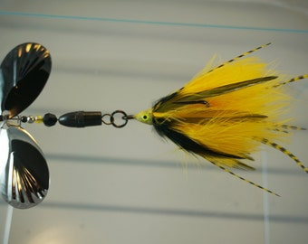 Goldfinch FlyStyle Muskie Bucktail