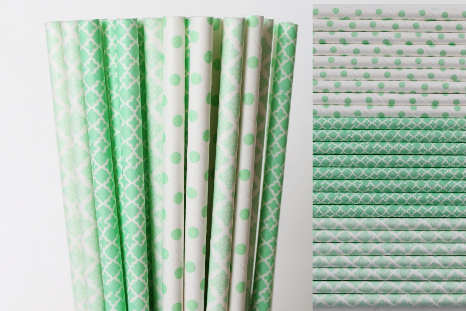 green paper straws Green & white 20 - green & white stripey paper straws look amazing in any drink container, length is about 8″ blue & white 20 - blue & white stripey paper straws look amazing in any drink container, length is about 8.