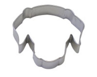 Dog Face Cookie Cutter  3.5""