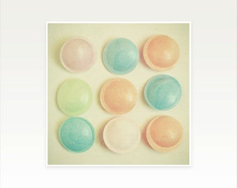Nursery Art, Childrens Wall Art, Kids Decor, Food Photography, Still Life Photo, Retro Wall Art - Flying Saucers