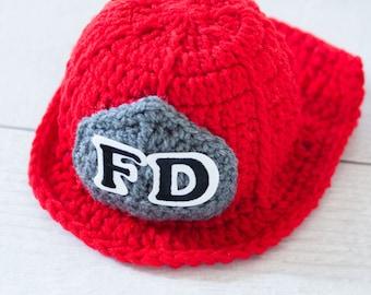 Crochet firefighter costume Etsy