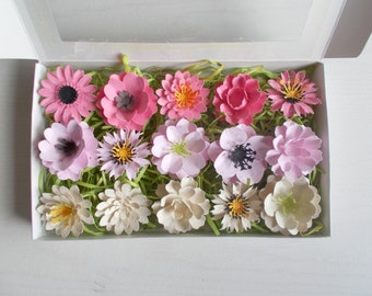 Gardening Gift Set - Plantable Seed Paper Flowers - Eco Friendly Mother's Day Gift, Valentine Gift, Garden Lover