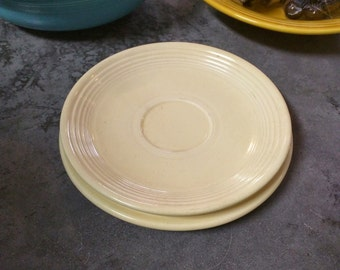 Vintage Fiestaware Plate Set