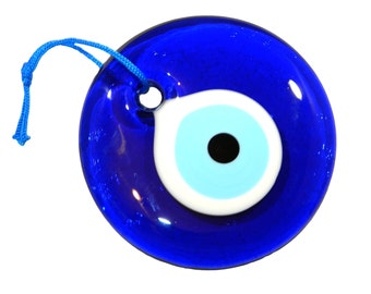 10cm Lucky Evil Eye Nazar Boncuk Turkish / Greek Glass Eye Hanging