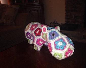 Crochet Happy Hippo - Heidibear Design pattern