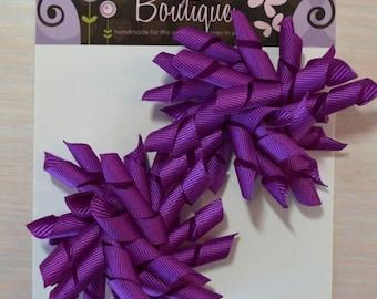 Korker Bow - Set of 2, Purple