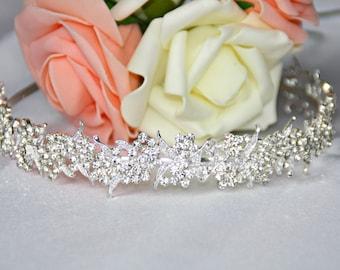 Bride rhinestone hair tiara tiara