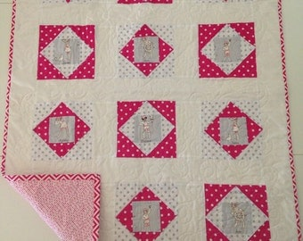 Girly Pirate Quilt - ON SALE!