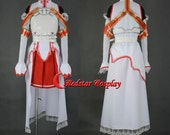 Sword Art Online Cosplay Asuna Yuuki Cosplay Costume - Custom made in any size