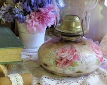 Popular Items For Vintage Oil Lamp On Etsy