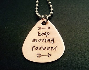 Keep Moving Forward Necklace