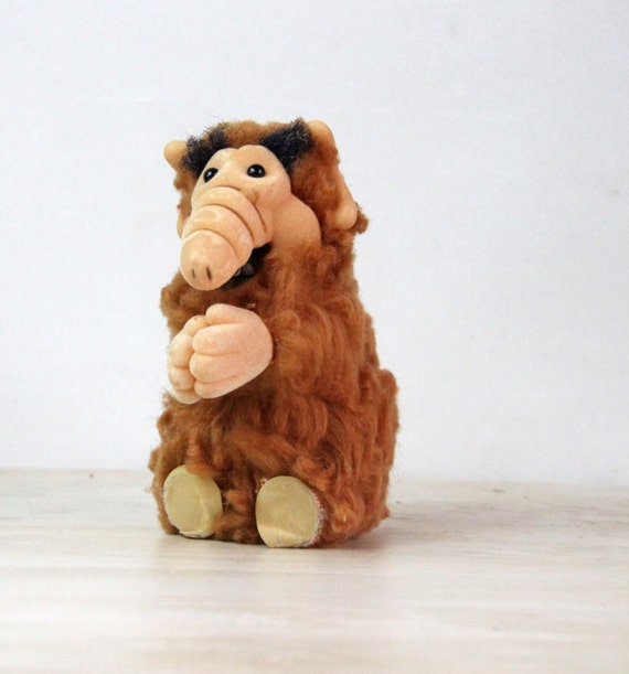 ALF Clip-On Toy Vintage Russ Clip-on Toy 1980 Hit TV