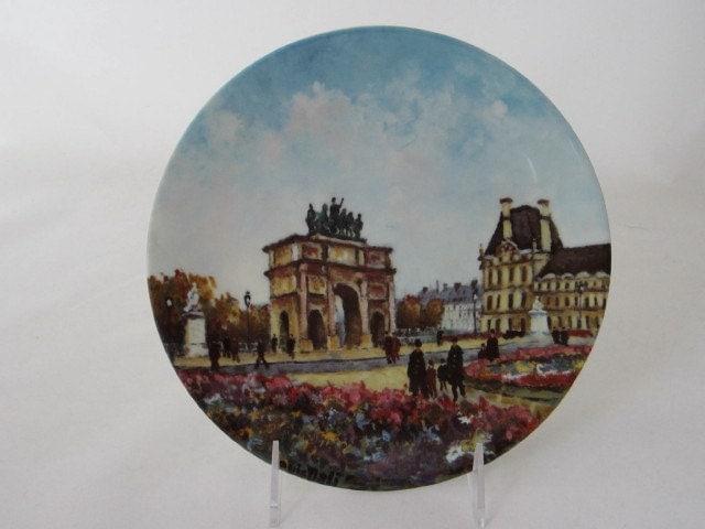 Louis dali limoges plate le jardin des tuileries plate 7 of - Jardin mediterraneen limoges ...