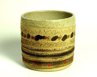 ceramic pot.ceramic planter.succulent planter. pot.pottery container.engraved ceramic pot.decorative storage pot.pottery planter.pen holder.