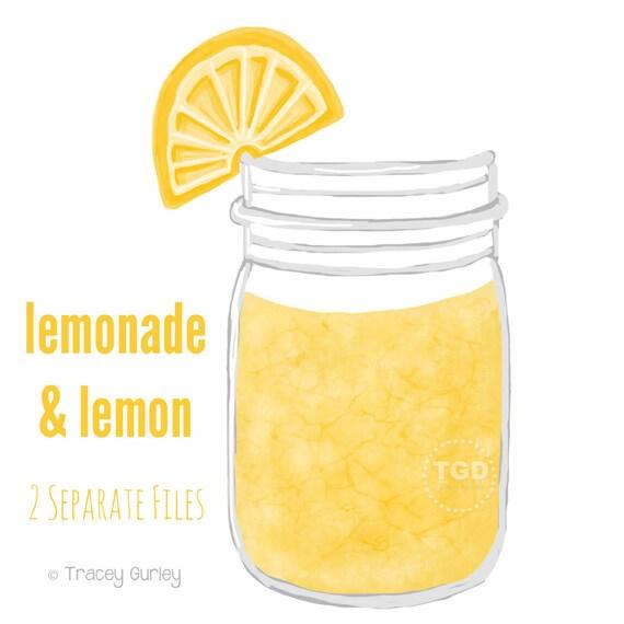 lemonade clipart black and white - photo #50
