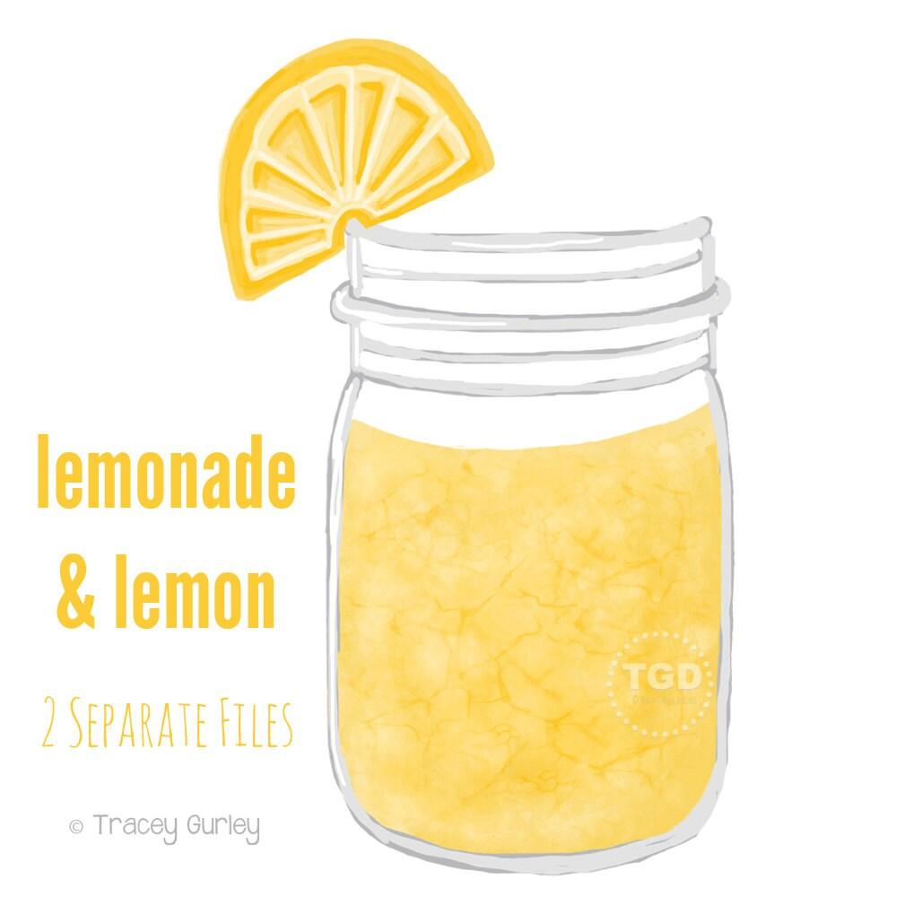 lemonade clipart black and white - photo #31