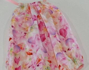 Toddler Girl halter neck size 1 floral print romper sunsuit playsuit