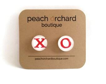 NEW XO earrings  - Valentine's Day Jewelry-