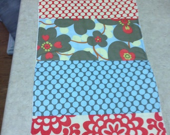 Amy Butler Baby Burp Cloth - With Minky Backing