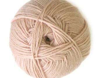 Beige Knitca Sock Yarn, Superwash Merino Sock Yarn, Sock Weight Yarn