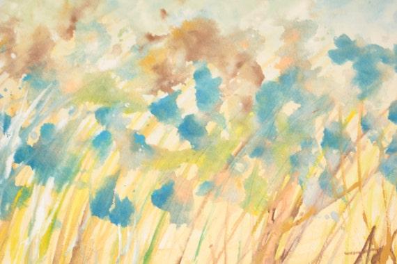 R serv aux goyi livraison gratuite original dessin aquarelle for Aquarelle fleurs livraison gratuite