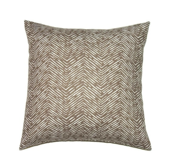 Brown Decorative Throw Pillows : Brown Pillow Cover 20x20 Pillow Cover Decorative Pillows