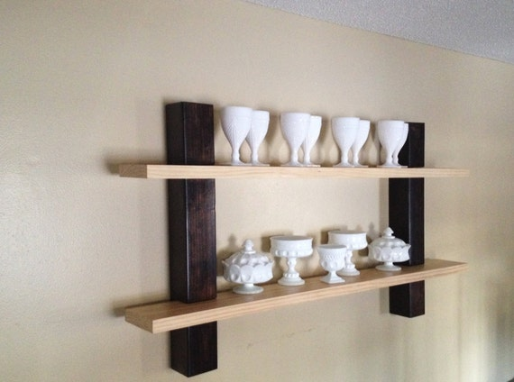 Modern Rustic Home Decor Wall Decor Wall Shelves Kitchen