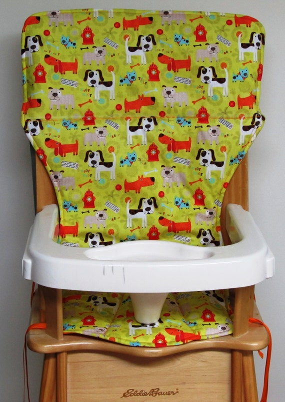 Eddie Bauer Wooden High Chair Pad Replacement By