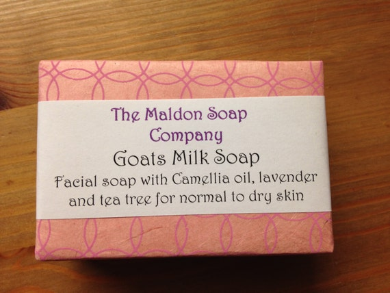 Goats Milk and Camellia Facial Soap