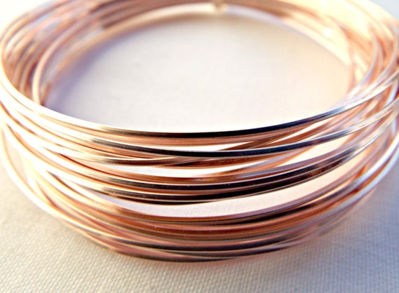 Rose gold wire square wire 20 gauge wire colored copper wire rose gold wire square wire 20 gauge wire colored copper wire 08mm wire wire wrapping jewelry wire craft wire wire coil uk seller from greentooth Images