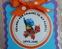 Wallykazam birthday favor tags wallykazam banner wallykazam invitations wallykazam party wally kazam birthday wally kazam banner wally kazam