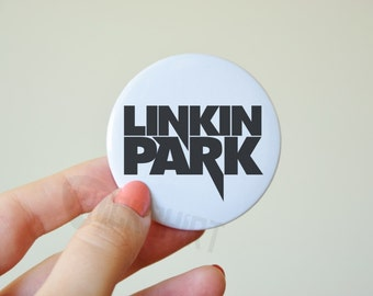 LINKIN PARK button pin, big button pin, wedding gift - any color