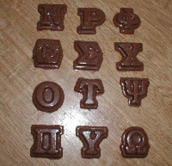Greek Letter Beads Plastic