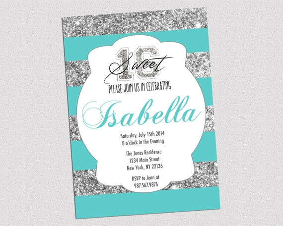 Tiffany And Co Baby Shower Invites as beautiful invitations example
