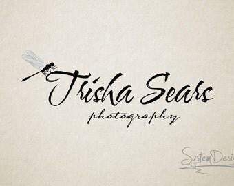 Text logo, Custom logo, Dragofly logo, Photography logos