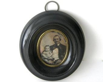Victorian Framed Daguerreotype