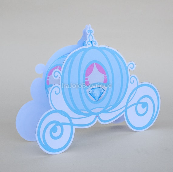 Cinderella Carriage Favor Boxes : Princess carriage gift box favor