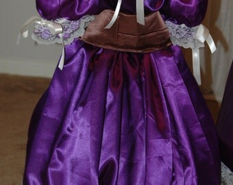 Basic Civil War Reenactment Girls Infant Toddler Size Ball Gown Sizes, Styles and Colors available