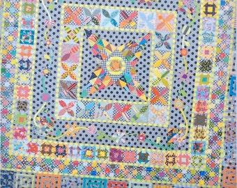 Midnight at the Oasis Quilt Pattern - Jen Kingwell - Jen Kingwell Designs - JKD 5088