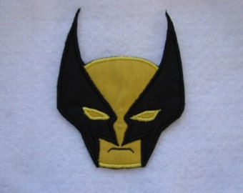 The Wolverine Super Hero X-Men Comics Iron on No Sew Embroidered Patch Applique
