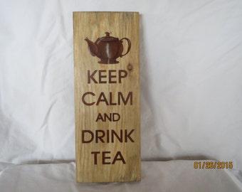 Shabby chic, elegant sign, tea room sign
