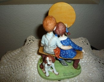Young Love Porcelain Figurine